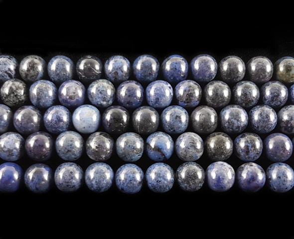 8mm Dumortierite Round Beads