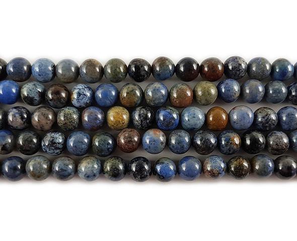 12mm Sunset Dumortierite Round Beads