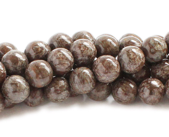 8mm Chocolate jasper round beads