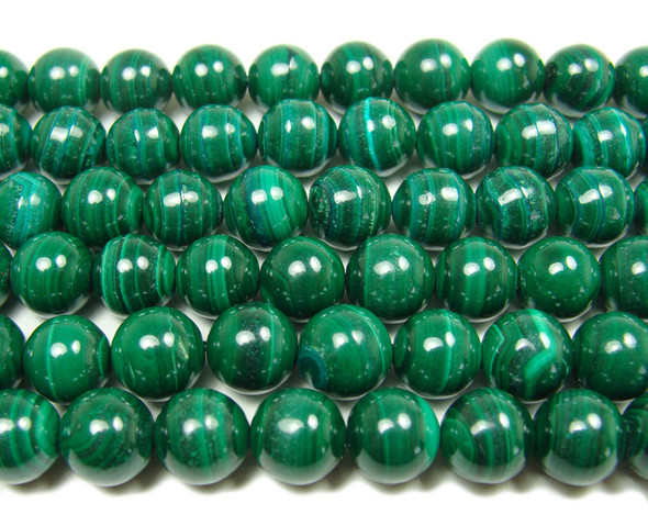 10mm  15.5 inches High quality malachite round beads