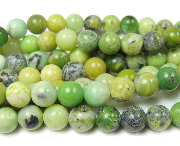 "8mm 15"" Australian Chrysoprase Round Beads"