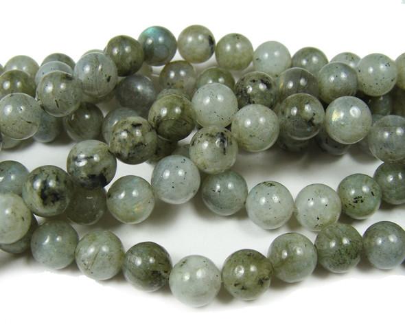 8mm  15.5 inches Labradorite round beads