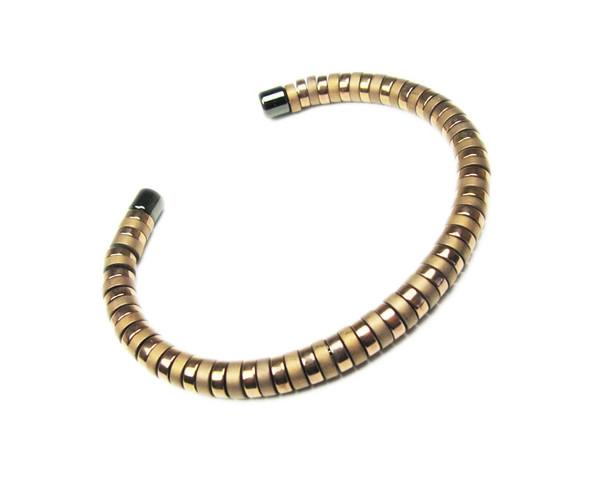 Bronze Hematite Fashion Cuff Bracelet