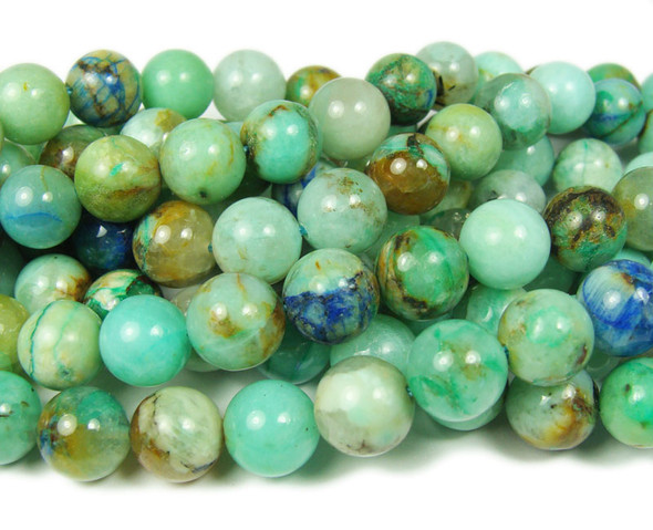 10mm Phoenix Stone Smooth Round Beads