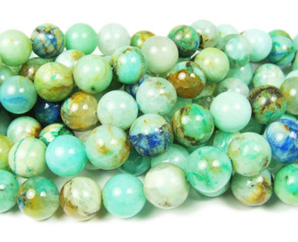 12mm Phoenix Stone Smooth Round Beads