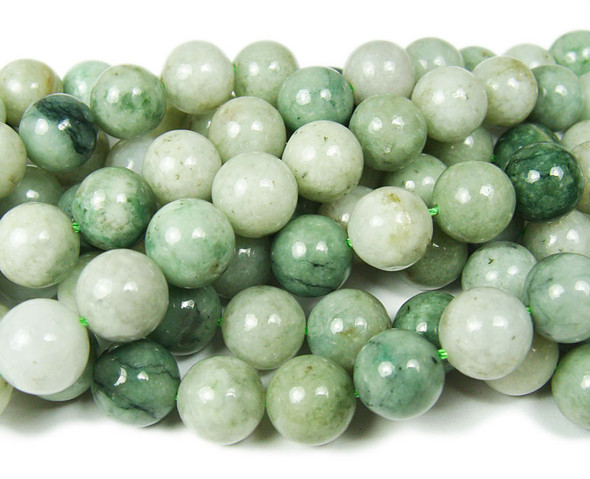 12mm Genuine Burma Jade Round Beads