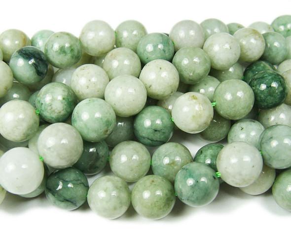 4mm Genuine Burma Jade Round Beads