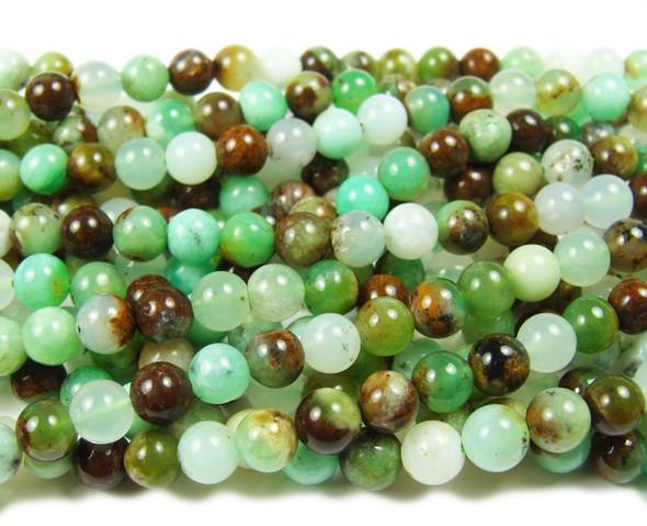 10mm Australian chrysoprase smooth round beads