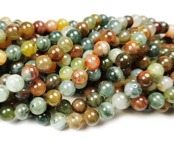 10mm Rainbow phantom crystal round beads
