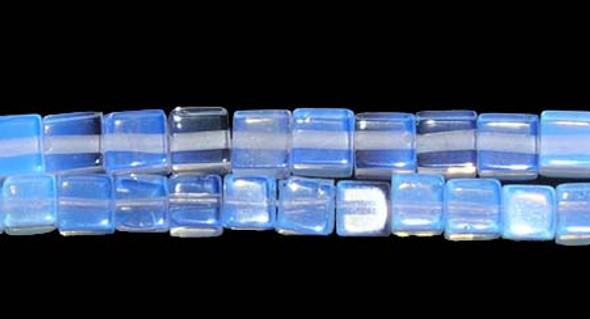 6x6mm Opalite Cube Beads
