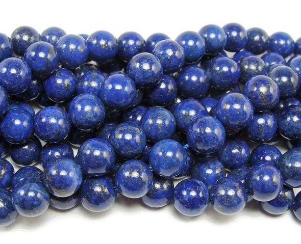 6mm Lapis Round Beads
