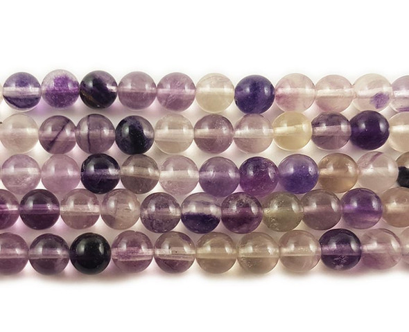 6mm Fluorite round beads