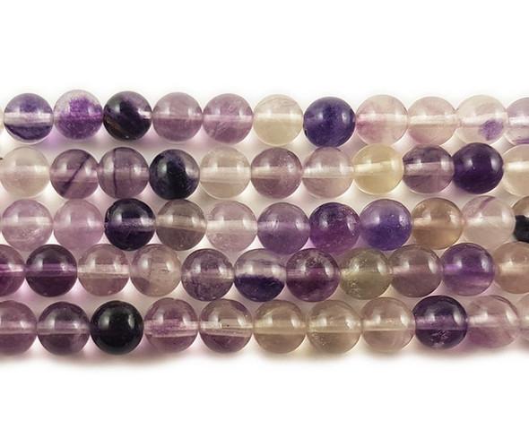 4mm Fluorite round beads