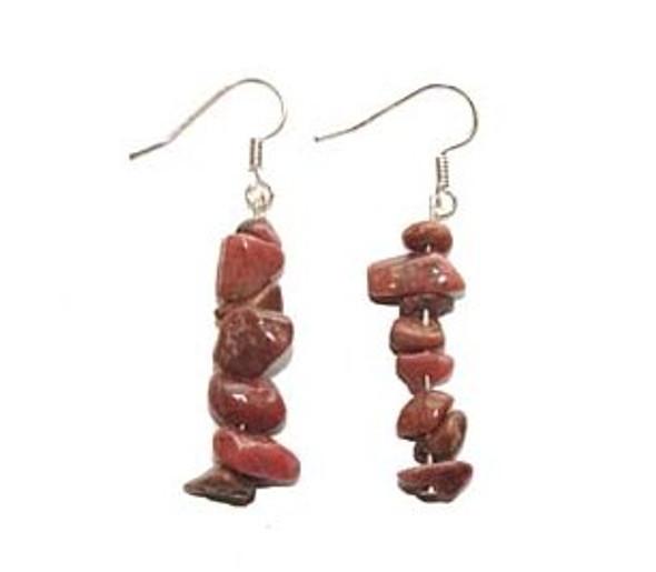 1 3/4 Inches Long Pack Of 5 Pairs Rhodonite Earrings