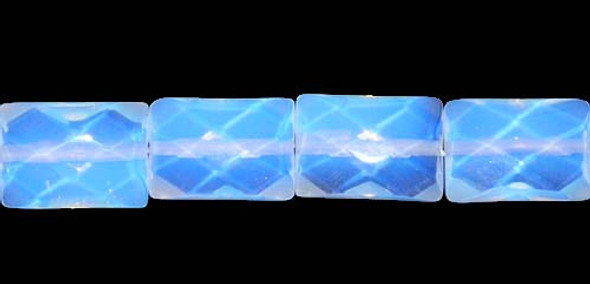 13x18mm Opalite Faceted Rectangle Beads