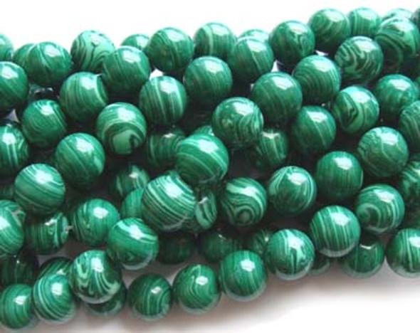 imitation round beads 18mm Malachite  round beads