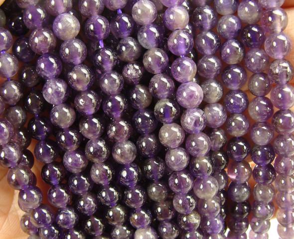 12mm Amethyst Round Beads