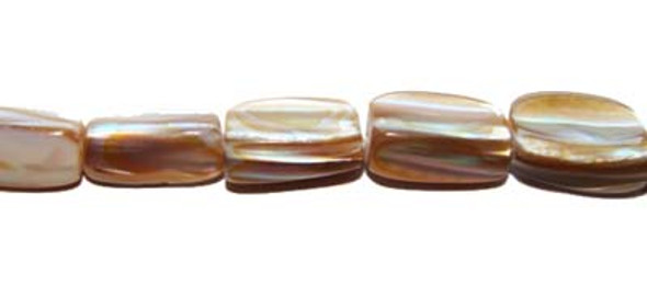 approx. 7x15mm  16 inches mother of pearl shell natural long stick beads