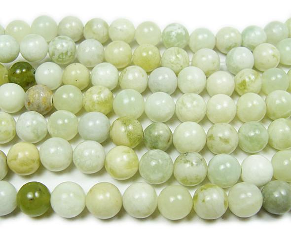 8mm 15.5 Inches New Jade Round Beads