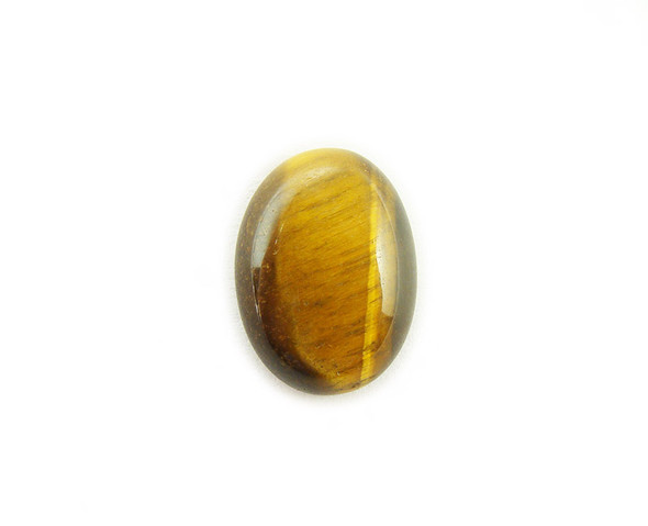 18x25mm Pack Of 4 Tiger Eye Oval Cabochon