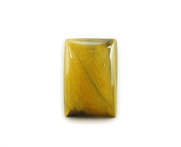 20x30mm Pack Of 3 Tiger Eye Rectangle Cabochon