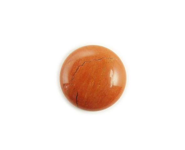 14mm Pack Of 5 Red Jasper Round Cabochon