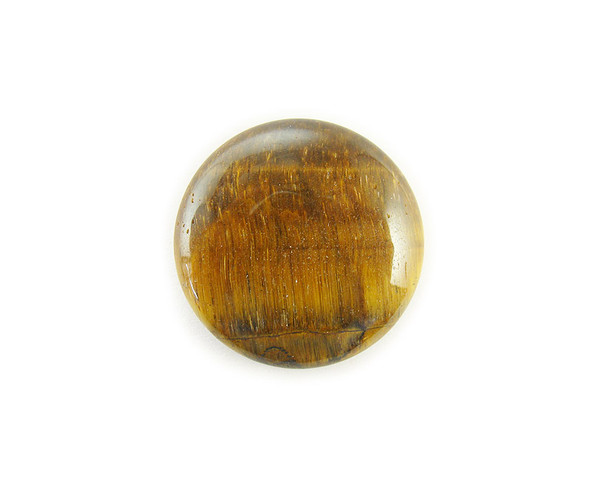 18mm Pack Of 4 Tiger Eye Round Cabochon