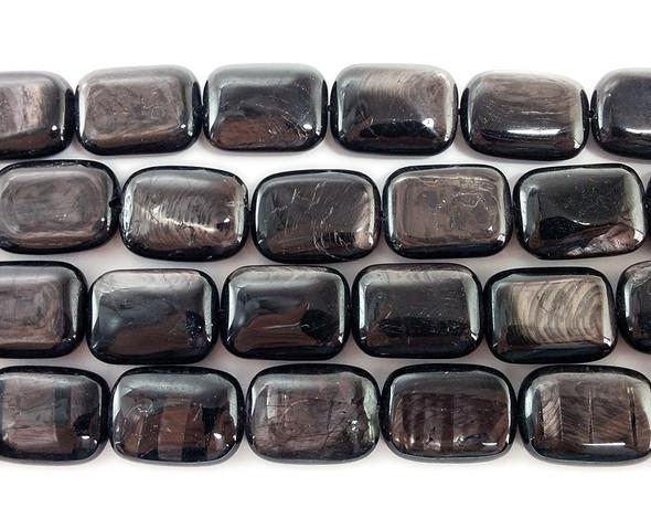 13x18mm Hypersthene Rectangle Beads