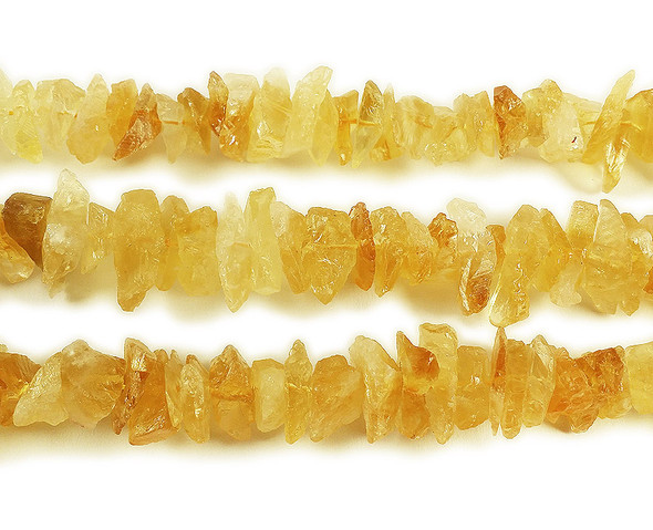 6x20mm Large Citrine Rough Gemstone Chips