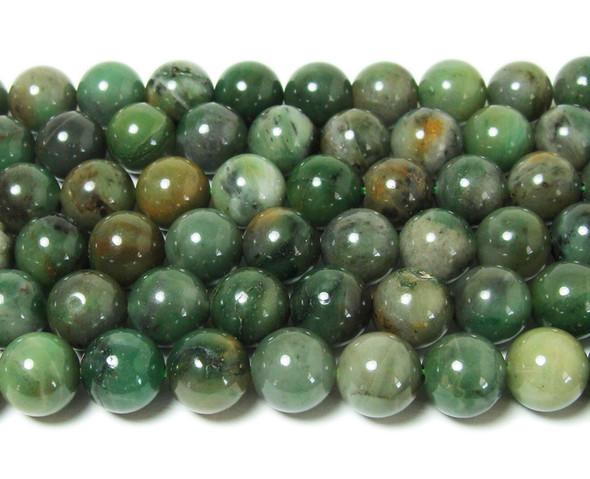 ustralian chrysoprase smooth round beads