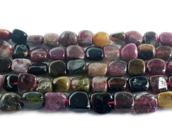 6x7mm Tourmaline smooth nugget beads