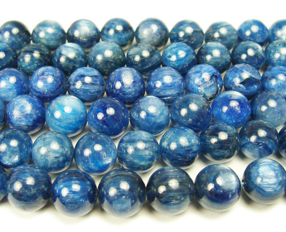 10mm Kyanite round beads