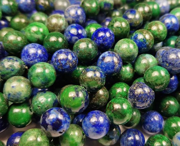 8mm Azurite Round Beads