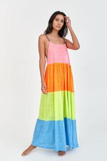 Rainbow Maxi Dress Brights