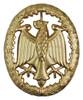 Bundeswehr German Army Leistungsabzeichen - Gold  from Hessen Antique.  Assmann quality