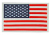 PVC Full Color American Flag - With Hook Fastener from Hessen Antique