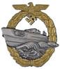Kriegsmarine Patrol/Torpedo Boat War Badge - 2nd Pattern (Schnellboot-Kriegsabzeichen) from Hessen Antique