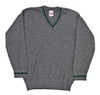 WH Grey Wool Sweater from Hessen Antique