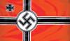 National War Flag from Hessen Antique