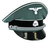 Waffen SS Infantry Officer Visor Cap from Hessen Antique
