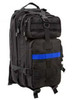 Black 'Thin Blue Line' Medium Transport Pack from Hessen Antique