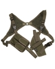 MIL-TEC Cordura Shoulder Holster - OD from Hessen Antique