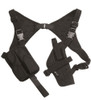MIL-TEC Cordura Shoulder Holster - BLACK from Hessen Antique