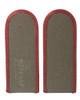 East German Army Enlisted Shoulder Boards - Stazi from Hessen Surplus