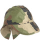 French CCE Camo Field Cap With Neck Flap from Hessen Surplus