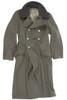 East German EM Grey Wool Overcoat from Hessen Surplus