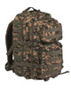 Woodland Digital Camo Assault Pack  -  Large Hessen Antique