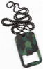 Camo Dog Tag Bottle Opener from Hessen Antique