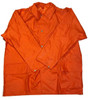 German Orange Rubberized Wet Weather Jacket from Hessen Surplus
