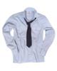 German Blue Long Sleeve Service Shirt from Hessen Surplus